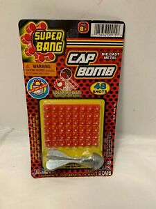 Vintage Super Bang Metal Cap Bomb 48 Total Shot New JA-RU