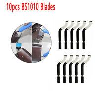 10pcs Lame Con Utensile Sbavatore BS1010 S10 Utensile sbavatura per fori manico