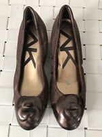 Anne Klein Women Shoe Sport Size 7.5 Wedge Heel Pre Owned