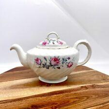 Vintage Burleigh Ironstone Teapot With Lid