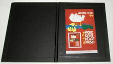 Woodstock Music Festival 25th Anniversary 1969-1994 Souvenir sheet w Hardcover