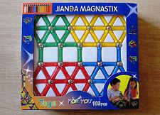 103-tlg Magnetbaukasten Baukasten Magnetset Magnetspielzeug