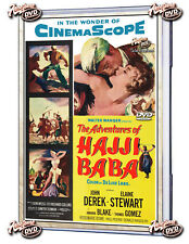 THE ADVENTURES OF HAJJI BABA 1954 DVD-WIDESCREEN JOHN DEREK, ELAINE STEWART