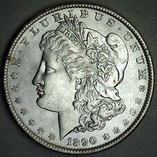 1890 Morgan Silver One Dollar Uncirculated Philadelphia Mint US $1 Coin #JC-5