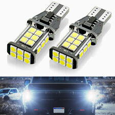 1 Pair Super Bright 24SMD LED Car Backup Reverse Light Bulbs 921 912 T15 3030