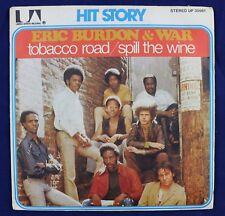 eric burdon war Tobacco road / Spill the wine 45 tours