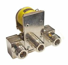 New Tohtsu CZX-3500 SPDT 24VDC N Connector Microwave Coaxial Relay - to 4 GHz