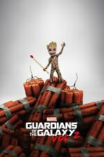 Guardians Of The Galaxy Vol. 2 - Baby Groot Dynamite POSTER 61x91cm NEW * Marvel