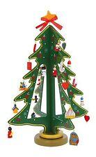 Beleuchtete Weihnachtsbäume Mehrfarbige