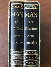 Man in Structure & Function by Fritz Kahn ~ 2 Volumes Hardcover w/ Slipcase 1960