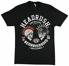 Headrush Mens Dueling Riders T-Shirt - Black - Small