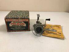 VINTAGE PFLUEGER PELICAN SPINNING REEL 1020 ORIGINAL BOX AKRON USA NICE