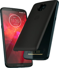 Motorola Moto Z3 Play 4 / 64GB Dual SIM + power pack Unlocked ,Outlet