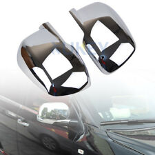 Fit For 2009-2017 Dodge Journey Chrome Door Side Rear View Mirror Cover Trim