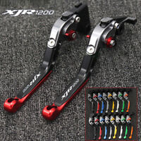 Adjustable Folding Extending Brake Clutch Levers For YAMAHA XJR1200 1995-1998