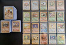 Pokemon Card LOT OF 10 Base Set to Neo 1st Edition+Rares+Shadowless+ TOP LOADERS