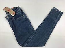 Levi's Women's 721 High-Rise Skinny Jeans Size 26x30 Low Stretch Raw Hem New