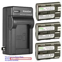 Kastar Battery Wall Charger for Canon BP-511 BP-511A MV500 MV500i MV530i MV550i