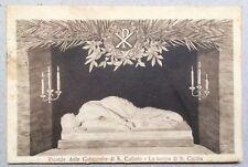 Ricordo delle Catacombe di S. Callisto *LaTomba di S.Cecilia*1925 gel.