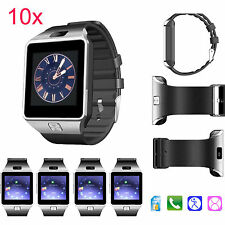10pcs DZ09 Bluetooth Smart Sports Watch Phone for Android Samsung Sony iPhone