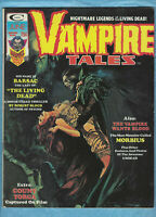 "Vampire Tales Vol 1, # 5,  1974, ""ORIGIN OF MORBIS the Living Vampire!"", 6.5 FN+"