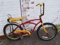 Vintage SCHWINN STING RAY  J38-6  MUSCLE BIKE BICYCLE. ALL Original. Will Ship..