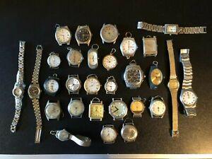 stock 29 orologi vintage lotto orologi da riparare