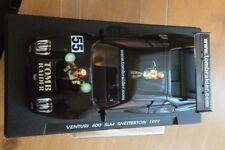 Fly car model Venturi 600 Slm Snetterton 1999 (black) slot car Tomb Raider