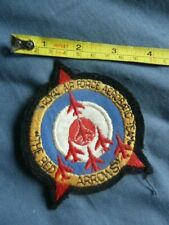 More details for royal air force, the red arrows, aerobatic team, older ? cloth patch