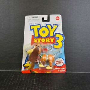 Toy Story 3 Slinky Dog Keychain BRAND NEW