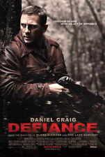 DEFIANCE Movie POSTER 27x40 C Daniel Craig Liev Schreiber Jamie Bell George