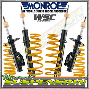 Suits Commodore VT VX VY Sedan COIL SPRINGS / MONROE Lowered Suspension Package
