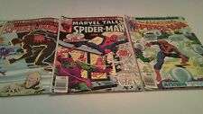 Set of 3 1979-80 Spider-Man Marvel Comic Books( #114,#198,#43) -Used