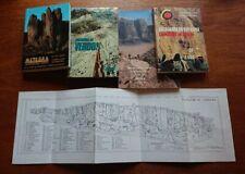 Climbing, Hiking books, selecton of 4 books in Jordan, Spain, Greece & Verdon