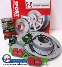 Zimmermann Sport Bremsscheiben gelocht 286x22mm EBC greenstuff für BMW e46 / Z4