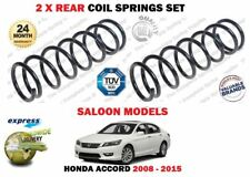 FOR HONDA ACCORD 2.0 2.4 2.2 DTEC  2008-2015 NEW 2X REAR COIL SPRINGS SET