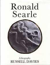Davies, Russell  RONALD SEARLE - A BIOGRAPHY Hardback BOOK