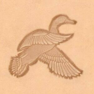 Ivan 3D Leather Stamp - Flying Duck (8515-00)