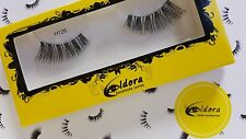 Eldora False Eyelashes H126 Human Hair Strip Lashes