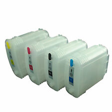 Empty Refillable ink cartridge 82 & 10 for HP Designjet 500ps 800 120ps 50 815