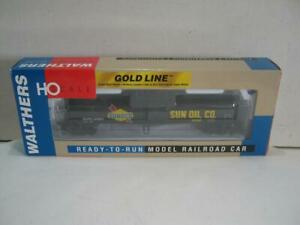 HO Walthers Gold Line Funnel Flow Tank Car Sunoco #24552 Item 932-7262 NIB!