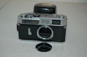 Canon-7 Vintage 1965 Japanese Rangefinder Camera. Serviced. No.848788. UK Sale
