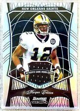MARQUES COLSTON 2009 Bowman Sterling BLACK REFRACTOR #ED /50 Card #88 Saints