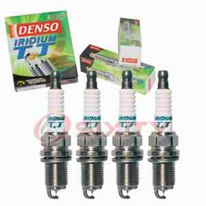 4 pc Denso Iridium TT Spark Plugs for 1994-2003 Mitsubishi Galant 2.4L L4 ud