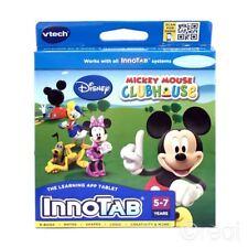 Nuevo Juego De Vtech Innotab Mickey Mouse Clubhouse Minnie Donald Duck Disney Oficial