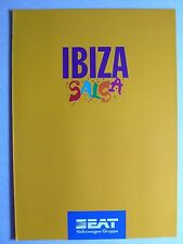 Prospekt seat ibiza salsa, 4.1995, 6 páginas, Folder