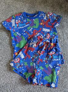 Marvel Avengers Superhero Short Pyjamas Pj's Age 4 Years