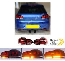 Dynamische LED Rückleuchten Heckleuchten für alle Volkswagen VW Golf 6 R GTI GTD