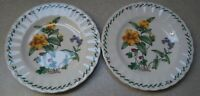 SET OF 2  MIKASA SUMMER SYMPHONY CAJ 14  DESSERT / BREAD BUTTER  PLATES  6 3/4""