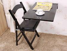 SoBuy® Folding Wall-mounted Drop-leaf Table Desk, 70x45cm, FWT04-SCH, Black, UK